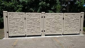 Fence Boss Dumpster Enclosures Bollards Columbus Indiana